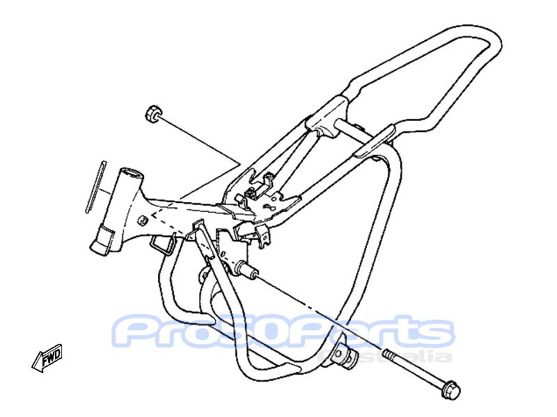 aftermarket parts for yamaha for yamaha pw50 frame  u0026 engine
