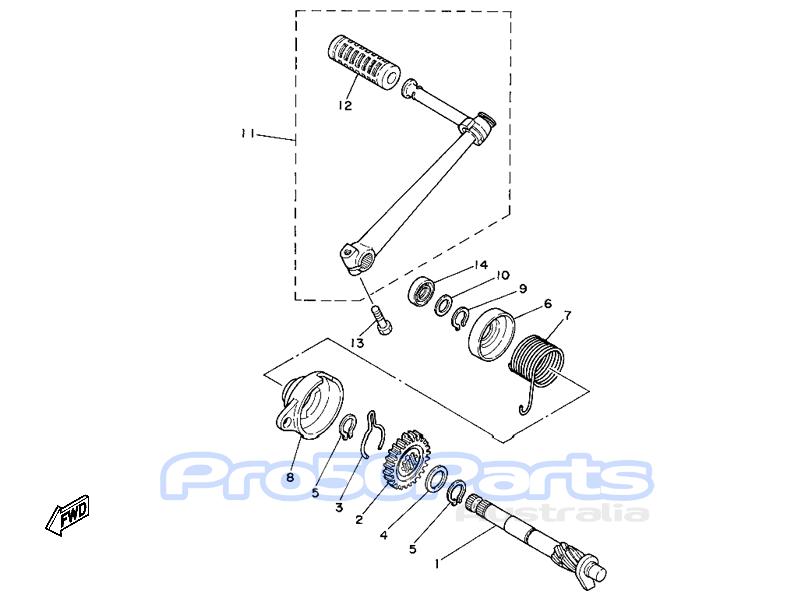 aftermarket parts for yamaha for yamaha pw80 engine