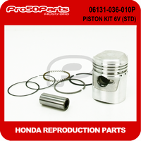 (Honda Non OEM) Z50 - Piston Kit 6v (STD) (Inc Pin, Rings)