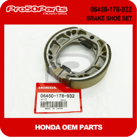 (Honda OEM) Z50 - BRAKE SHOE SET