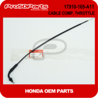 (Honda OEM) Z50 - Cable Comp, Throttle