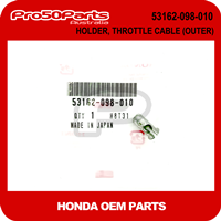 (Honda OEM) Z50A/ J1 - Holder, Throttle Cable (Outer)