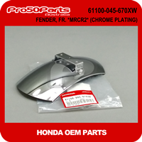 (Honda OEM) Z50A - FENDER, FR. *MRCR2* (CHROME PLATING)