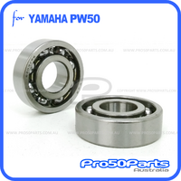 Bearing 6203 (x2, Crankshaft)