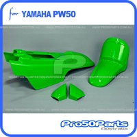 (PW50) - Plastics Fender Cover Set (Green)