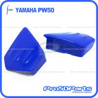 (PW50) - Plastics Fender, Fuel Tank Cover Only (Blue)