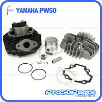 (PW50) - Cylinder Rebuild Kit (Std), Inc Cylinder, Head, Piston, Rings, Pin, Circlip, Bearing & Gasket Set