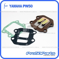 (PW50) - Reed Valve Assy and Gasket Valve Seat