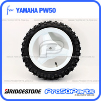 (PW50) - Rear Wheel Set (Bridgestone Tyre)
