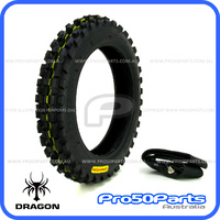 "***Dragon Tyre*** - Tyre & Tube (2.50-10"")"