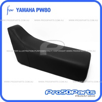(PW80) - Seat Complete Assy (Black)