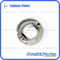 (PW80) - Brake Shoe Set (Front Brake)