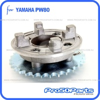 (PW80) - Hub, Rear Sprocket Clutch Hub Holder