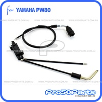 (PW80) - Cable, Throttle