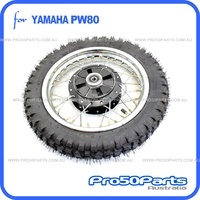 (PW80) - Wheel, Rear Wheel Comp