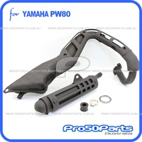 (PW80) - Exhaust Pipe Muffler Comp