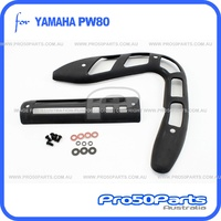 (PW80) - Protector, Exhaust Pipe and Silencer
