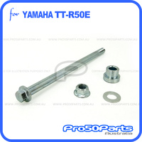 (TT-R50) - Axle, Rear Wheel