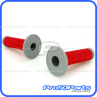 Throttle Grip Set (Red)