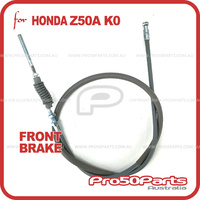 (Z50A) Front Brake Cable (Reproduction Cable, Grey colour)