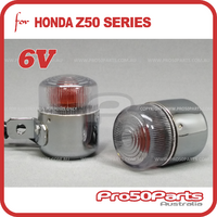 Turning Light Indicator 6v (2x, Orange Light Bulb), Suit Honda Z50, ST70, ST90, CT70