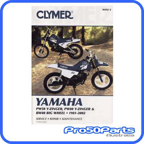 CLYMER Service Manual - Yamaha PW50 Y-Zinger, PW80 Y-Zinger, BW80 Big Wheel (1981 - 2002)