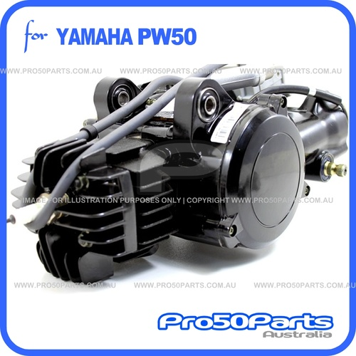 (PW50) - 50cc 2-Stroke Engine Complete