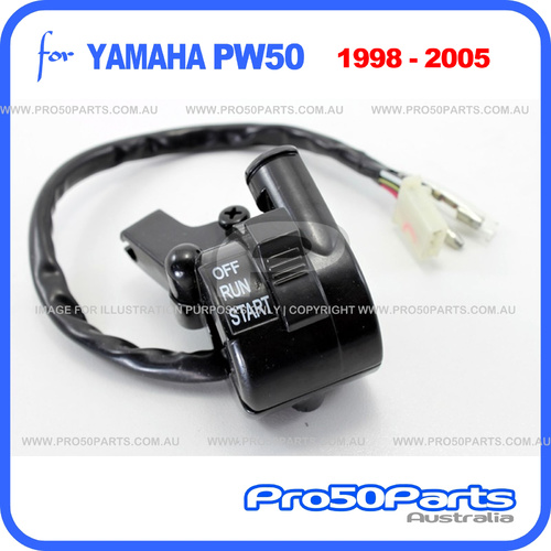 (PW50) - Lever Holder Assy - Right (1998-2005, Throttle Housing, 3+2 Inline)