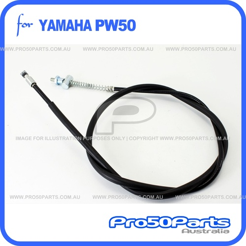 (PW50) - Cable, Brake (Rear Brake Cable)