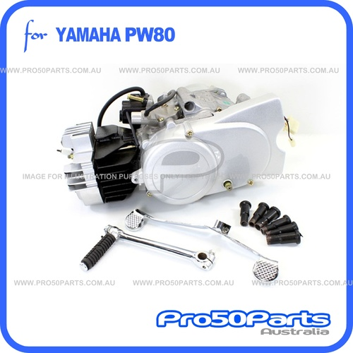 (PW80) - 79cc 2-Stroke Engine Complete